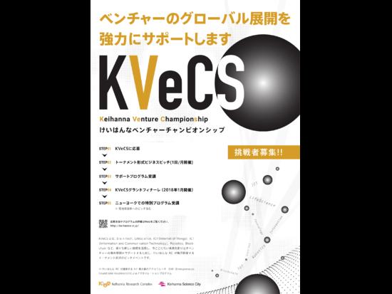 [10.20 Fri 16:00]第4回Keihanna Venture Championship (KVeCS) ~Make Next Innovation!Go Global!~