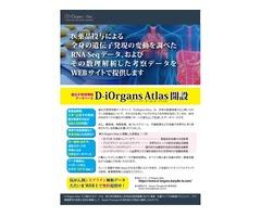 【参加募集】医薬品作用の全身網羅データベース「D-iOrgans Atlas」活用講習会
