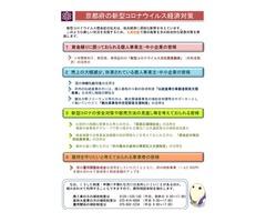 京都府の新型コロナウイルス経済対策について